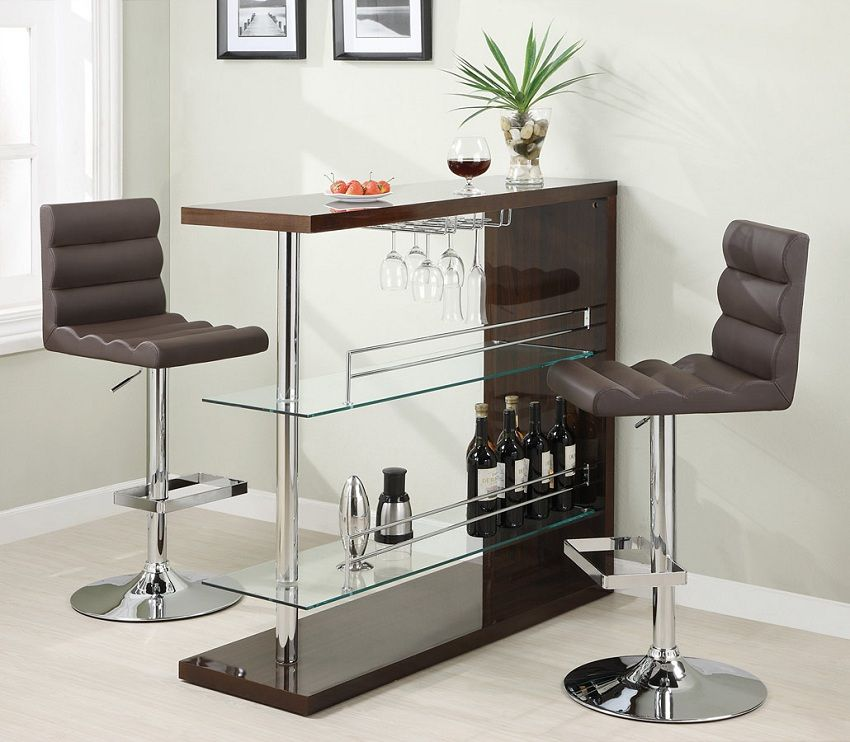 Attirant Room · Eve Collection 100166 Bar Height Dining ...