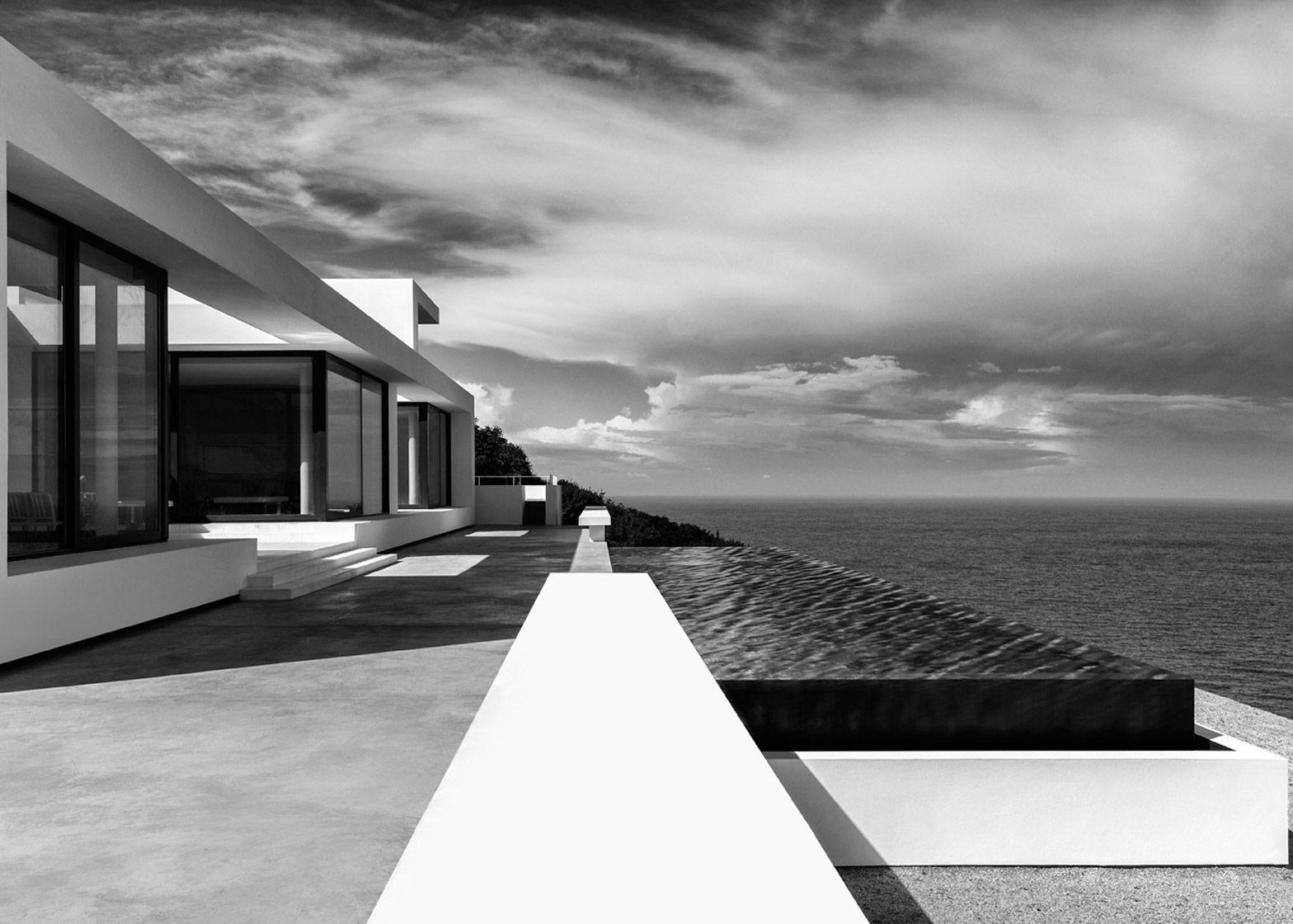 Olivier Dwek uses white walls to frame Ionian Sea views