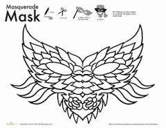 Image result for chinese opera mask coloring pages ...