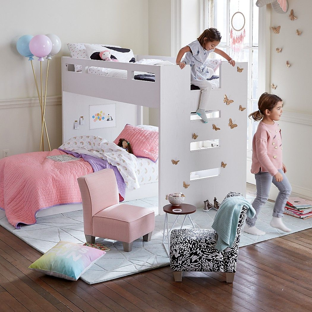 Abridged Bunk Bed | The Land of Nod | house | Pinterest | Bunk bed ...
