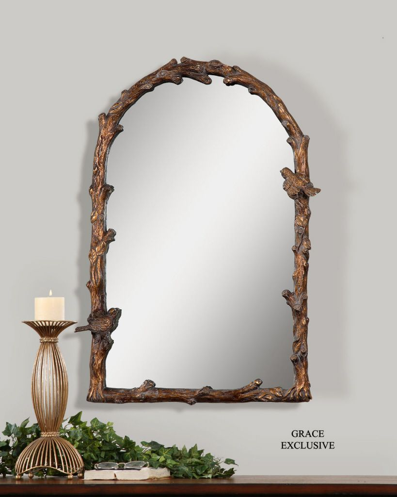 Photo Album For Website Bird Song Arched Mirror