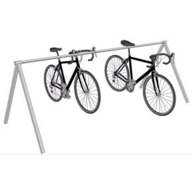 Triathlon Style Bike Rack