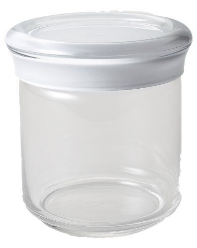 KDG International Omada Trendy Acrylic Food Storage Containers, 25 Ounce,  White By KD