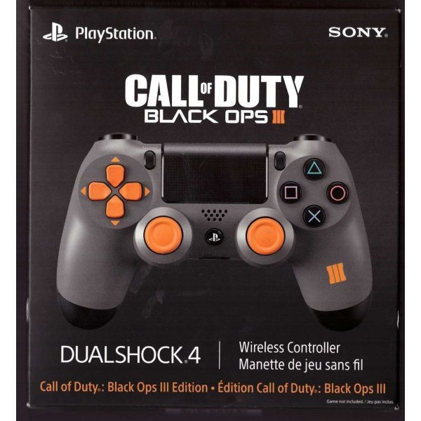 Call of Duty: Black Ops III Limited Edition DualShock 4 Wireless Controller  [PlayStation 4 Accessory]   Video games