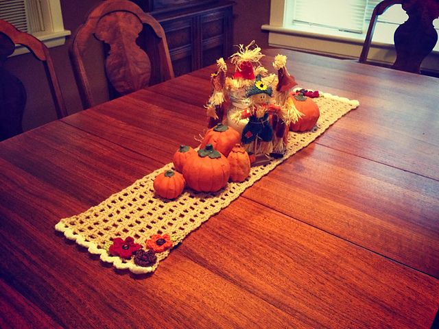 Ravelry: Quick Crochet Table Runner pattern by With Love by Jen Catavu