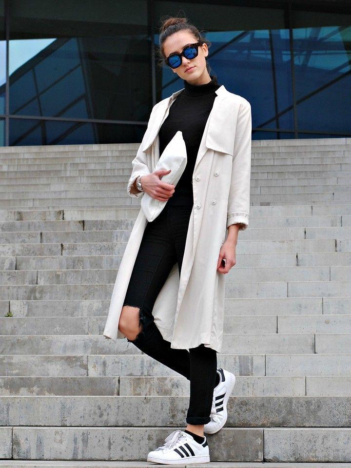 adidas superstar blogger looks