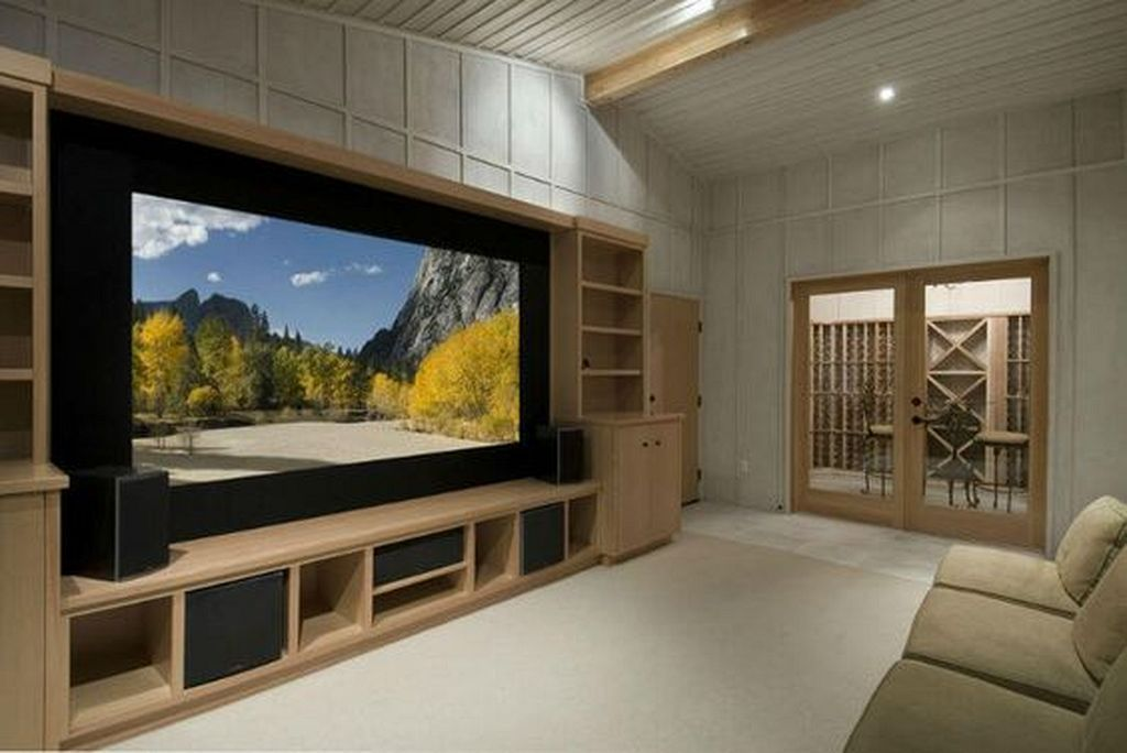 30 Best Simple Cozy Home Theater Ideas For Small House