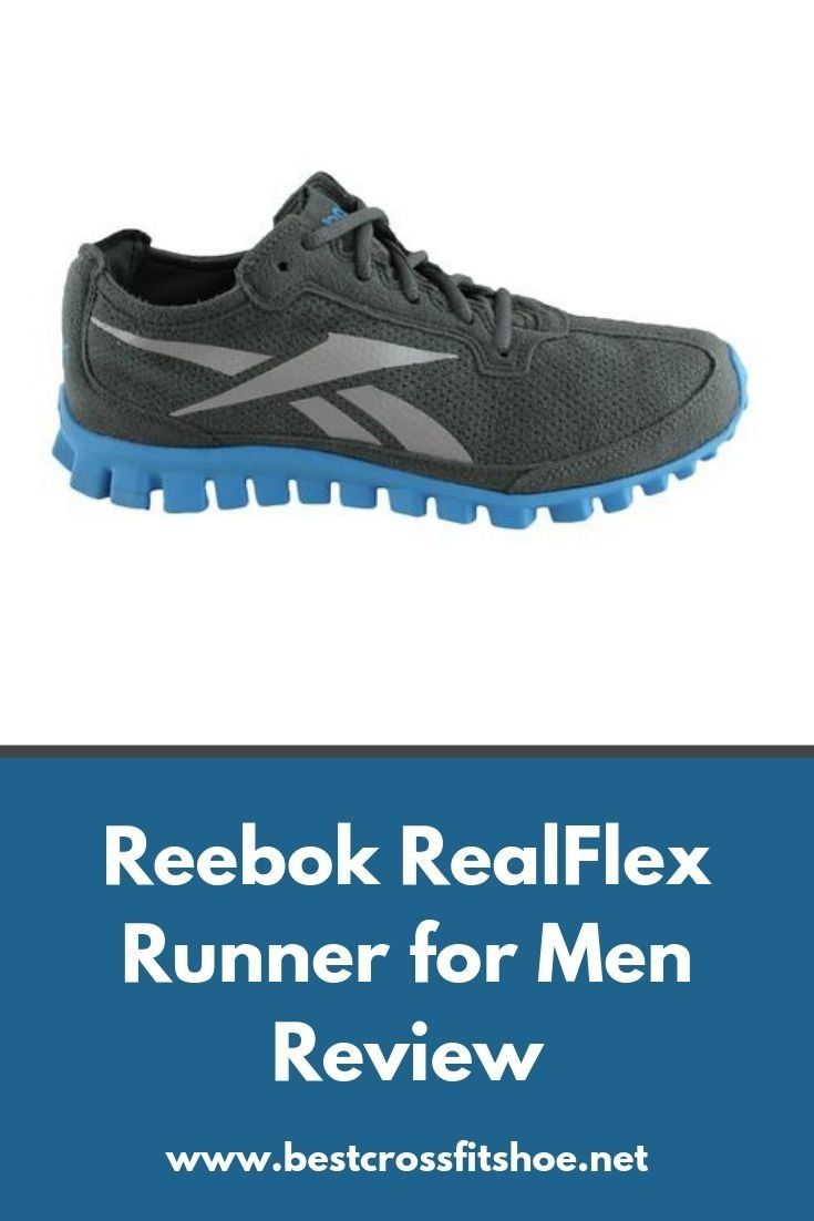 Review of the Reebok RealFlex Runner for Men. Is it the right running shoe for your next marathon? F...
