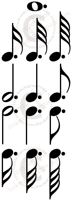 Make Your Own With Free Printable Music Notes Music Symbols Music Images Music Notes