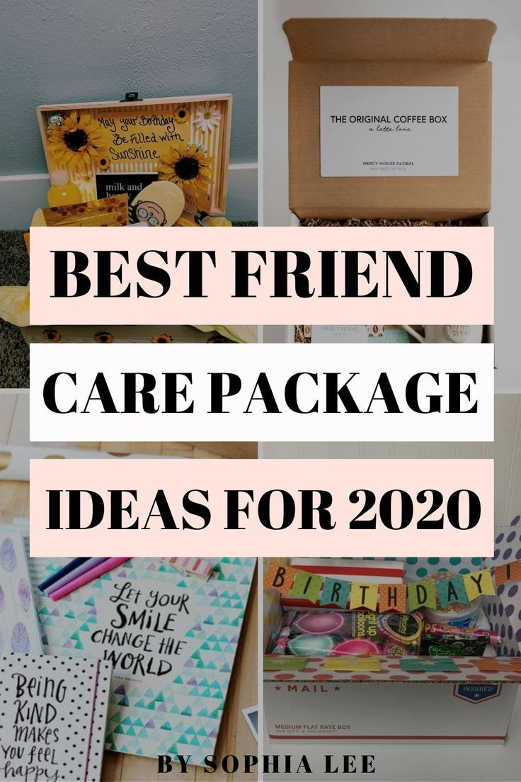 22 genius friend care package ideas guaranteed to make