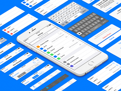 ios 9 ui template for sketch gui kits colors pinterest