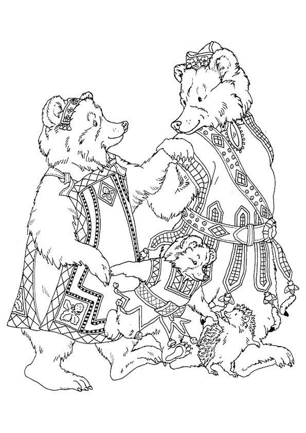 Print Coloring Image Momjunction Bear Coloring Pages Coloring Pages Abc Coloring Pages