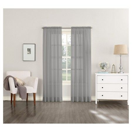 Sheer Voile Curtain Panel No. 918 : Target