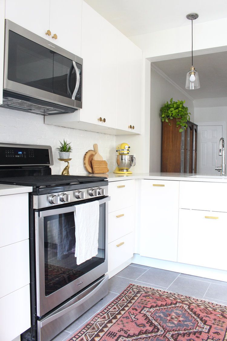 Veddinge Küche Ikea Weiß Before After Our Kitchen Renovation Pinterest Küche