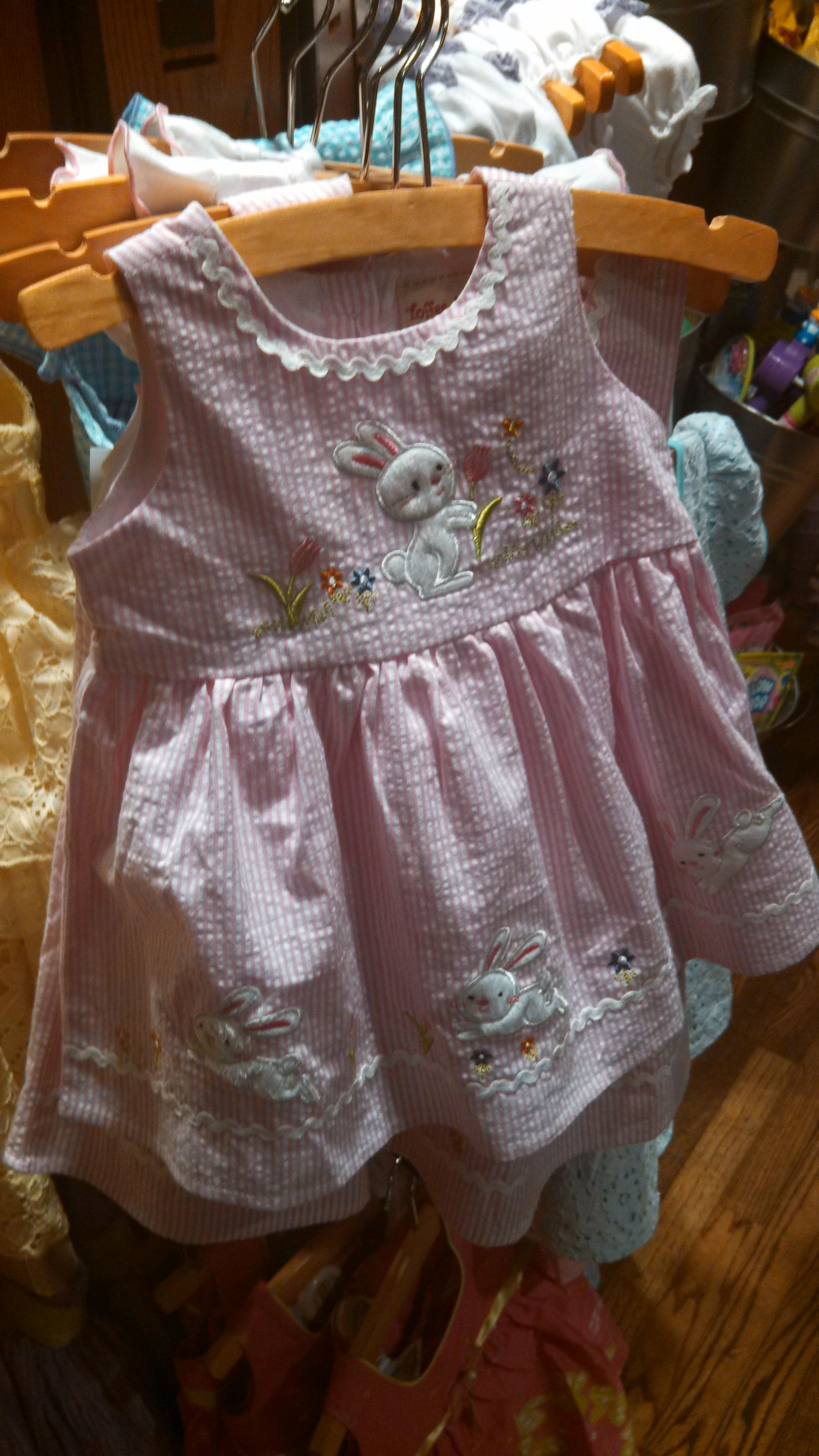 Cute Bunny Easter Dress Cracker Barrel Holly Dolly 3 Pinterest