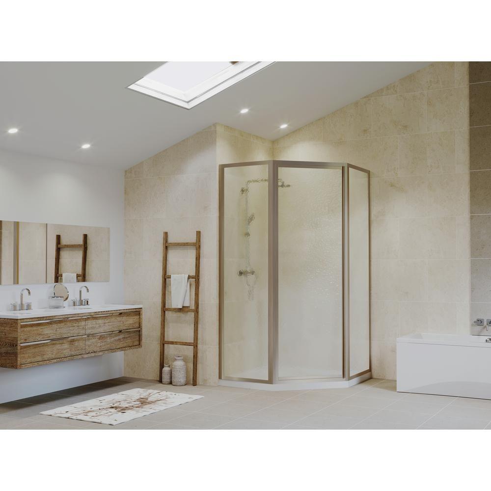 Coastal Shower Doors Legend 54 In X 70 In Framed Neo Angle