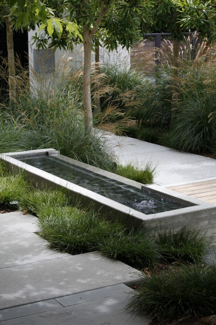 Pin By Marion Alewijns On Water Features Water Features In The Garden Family Garden Modern Landscaping