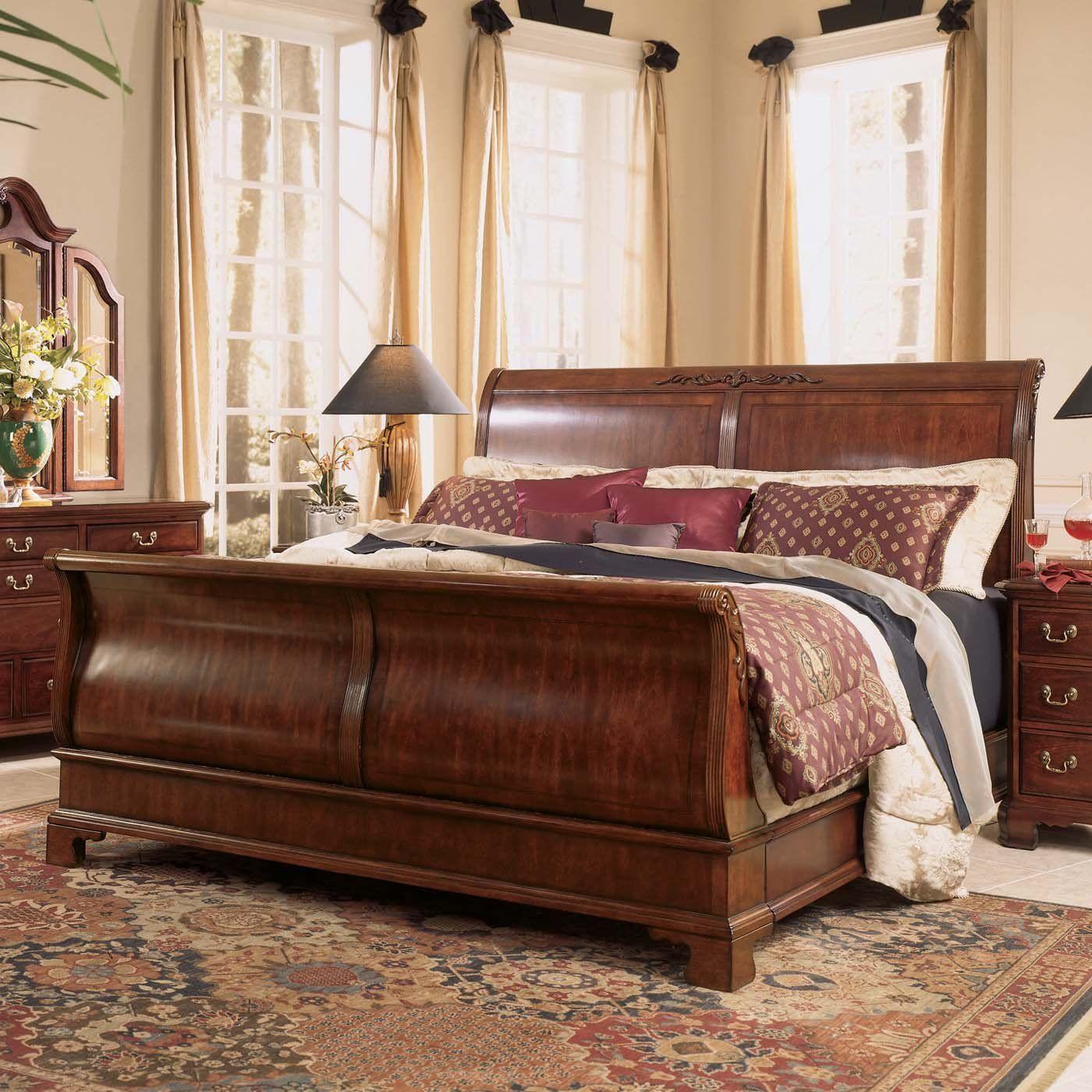 Sleigh Bed To Die For Sleigh Bedroom Set Bedroom Set Broyhill Bedroom Furniture