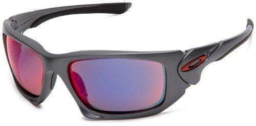 0f31b95041 Oakley Scalpel 9095-04 Dark Grey Red Iridium Sunglasses - size One Size Gafas  De