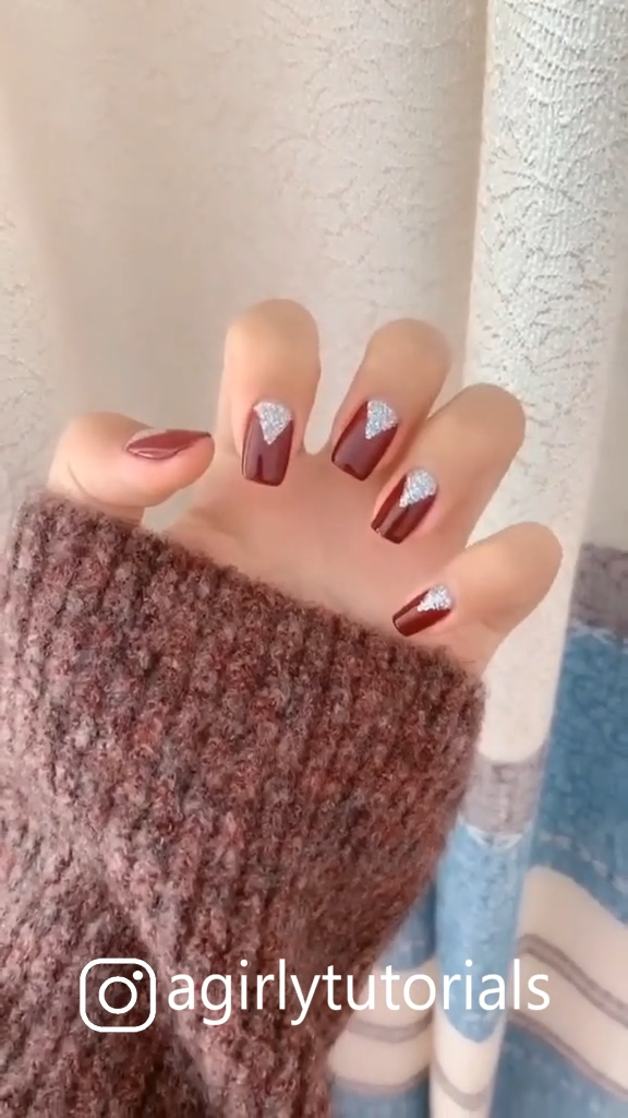 Some Cute and Easy Nail Art Tutorials Part 9