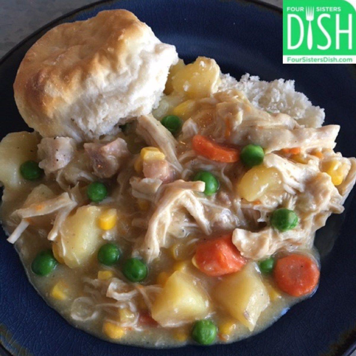 Crock Pot Chicken Pot Pie Recipe Crockpot Chicken Pot