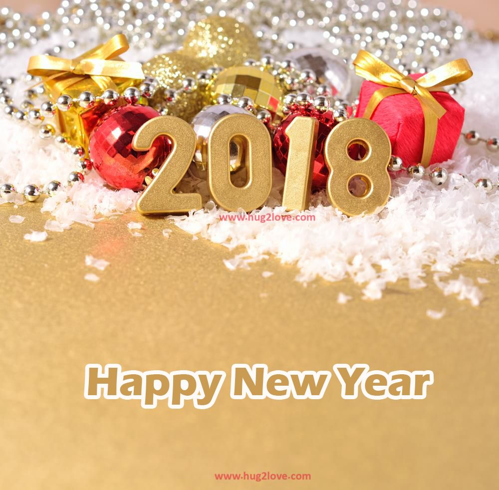 High Quality Happy New Year 2018 Hd Photo