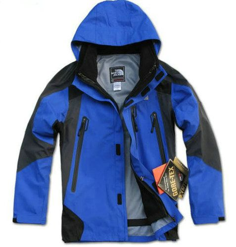 The North Face Skyblue Jacket Gore Tex For Men Online Outlet