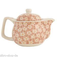 Neu von Clayre & Eef  Hübscher Teepot Teekanne inkl.Teesieb Keramik 6CETE0019