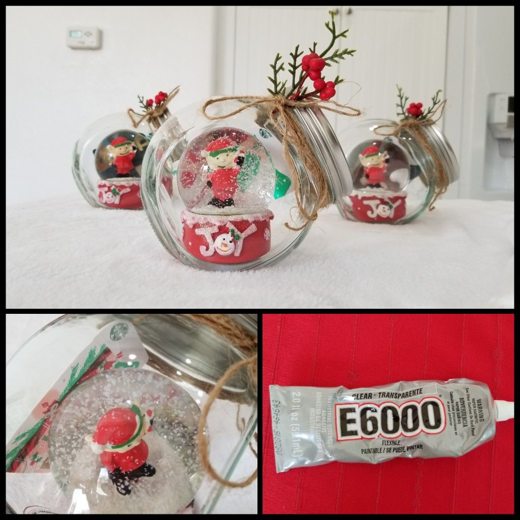 Diy Gift Card Snow Globe Diy Gift Card Snow Globes Globe Ornament