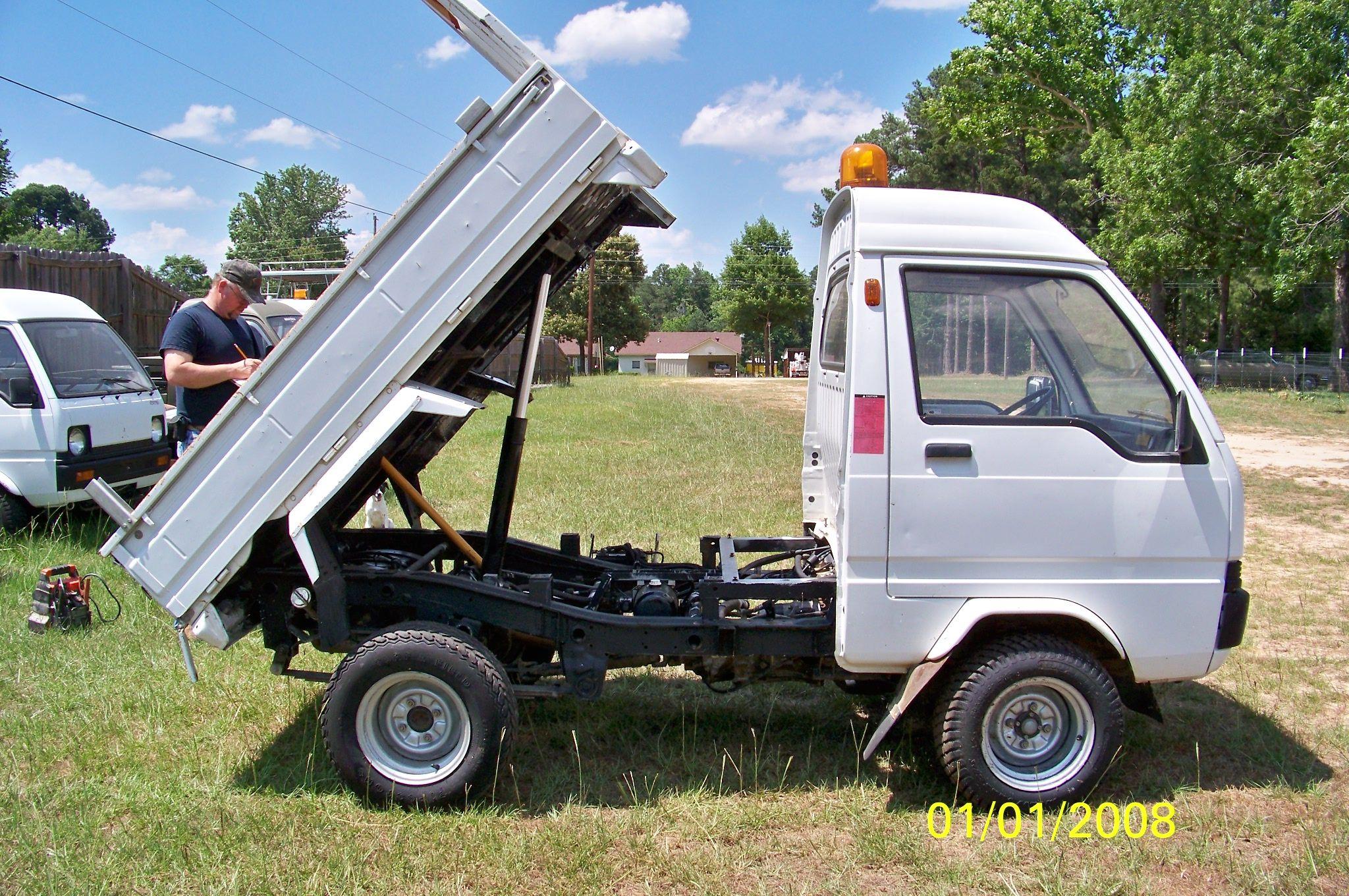 1994 MITSUBISHI MINI CAB LEFT HAND DRIVE DUMP | Farm Stuff | Pinterest