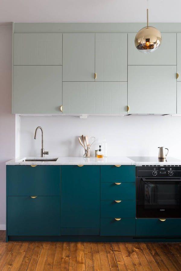 Inspiring Kitchens You Won\'t Believe are IKEA | Wohnküche, Studio ...