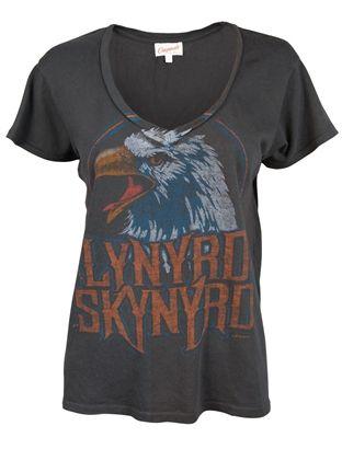 8f730e19 Vintage Lynyrd Skynyrd T-shirt by Junk Food | Stylish in 2019 ...