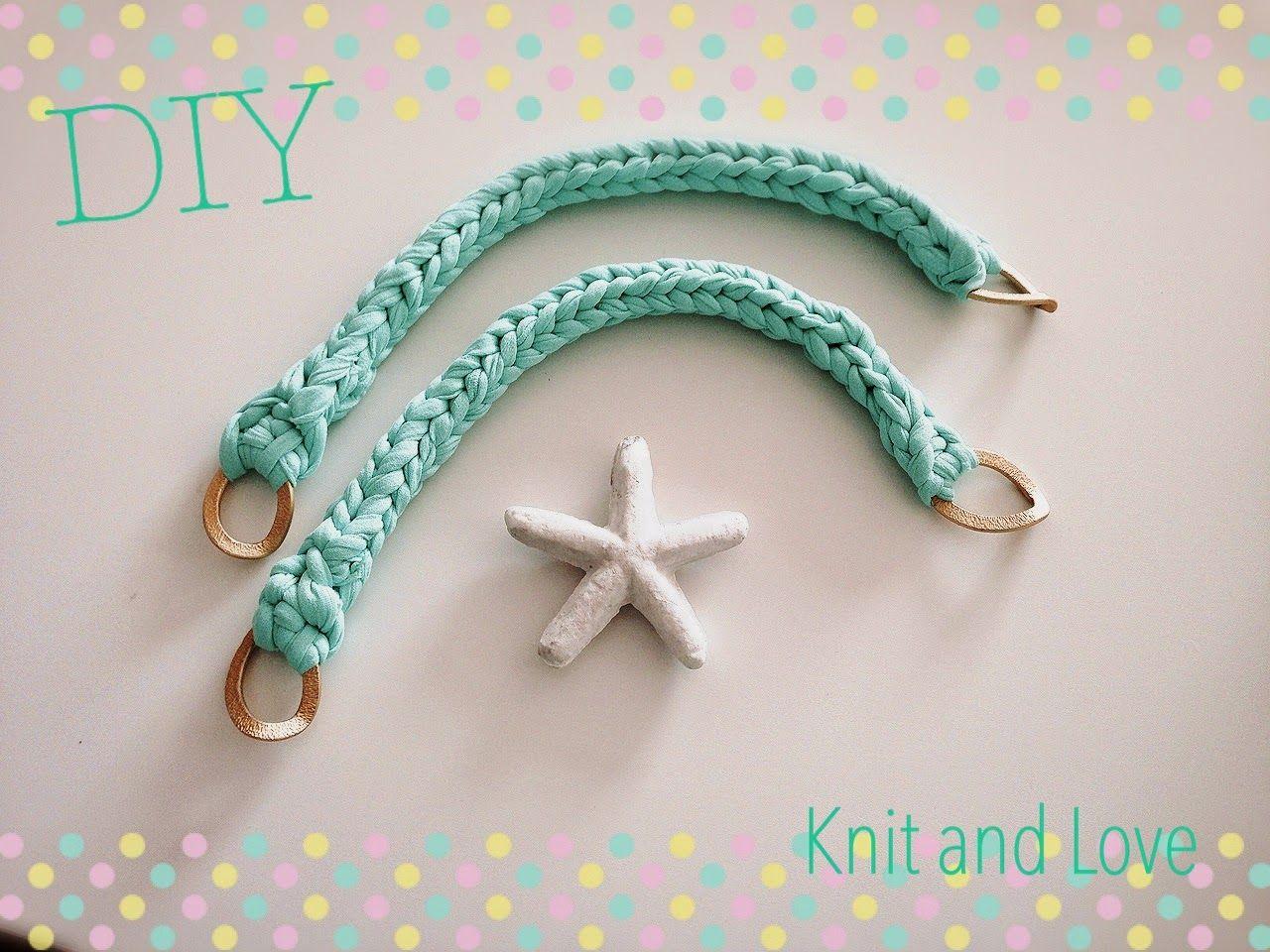 Knit and Love: CÓMO HACER ASAS TRAPILLO FÁCIL PASO A PASO DIY