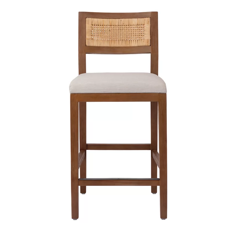 Fahy Bar Counter Stool In 2020 Counter Stools Solid Wood Dining Chairs Rattan Counter Stools