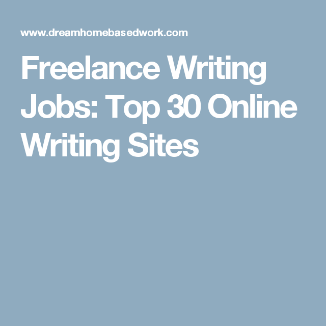 lance writing jobs top online writing sites lance lance writing jobs top 30 online writing sites