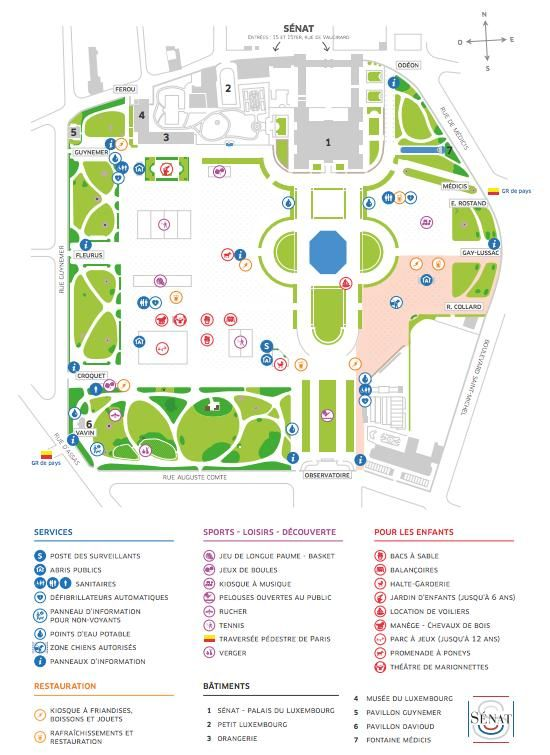 Map Of The Jardin Du Luxembourg Http Map Of Paris Com Parks Gardens Maps The Jardin Du Luxembourg Map Luxembourg Gardens Luxembourg Map
