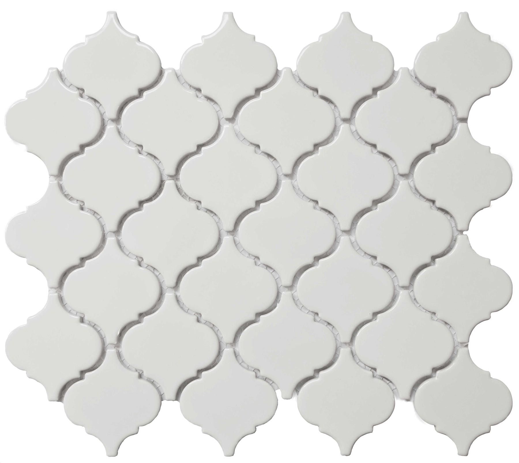 Bright White Lantern  Cc Mosaics Collection Ceramic Tiles By