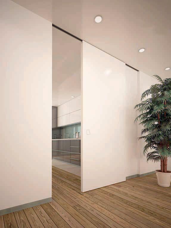 Resultado de imagen de pared corredera puertas - Puerta de paso corredera ...