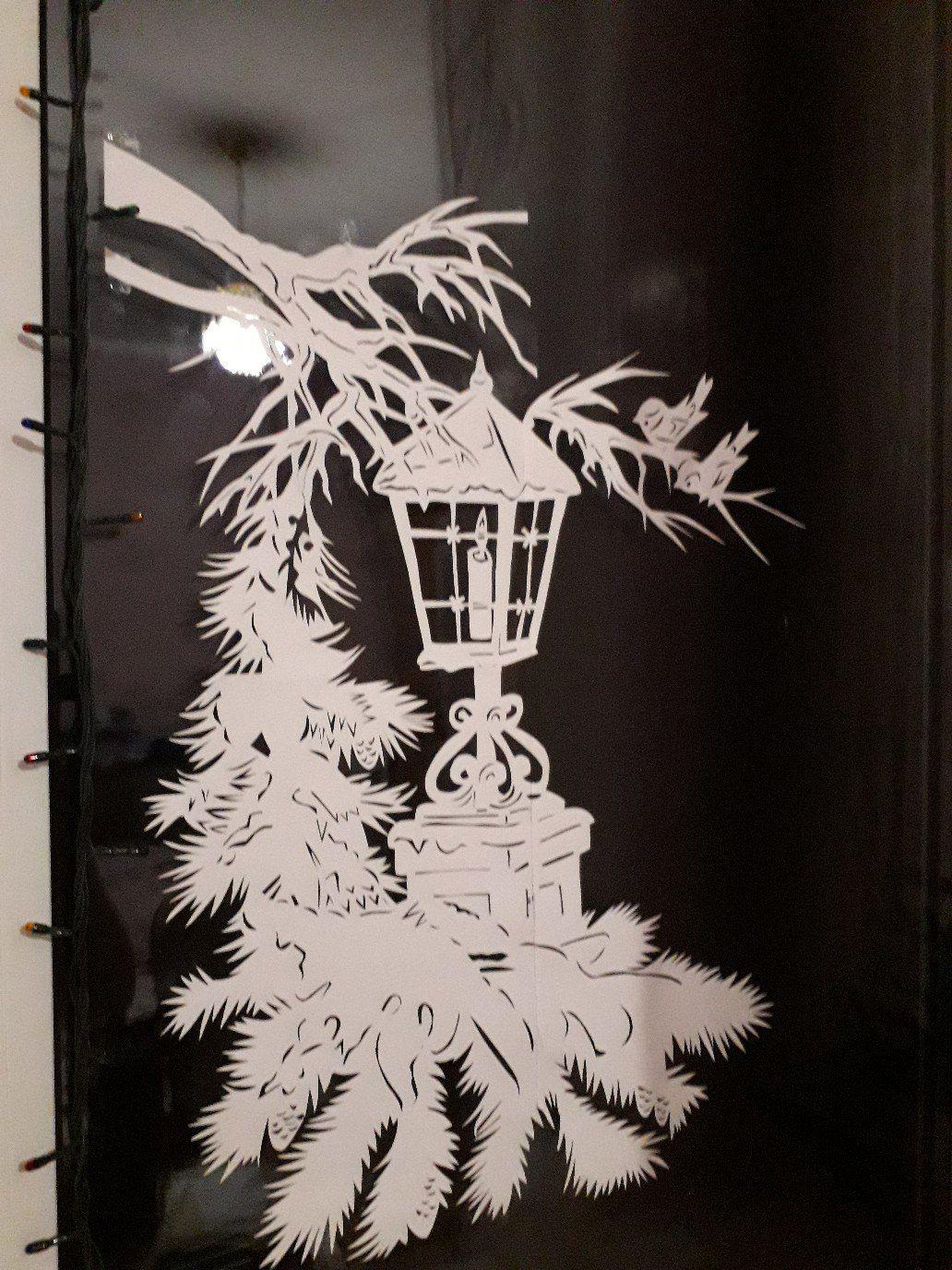 красивые картинки веток деревьев вырезать из бумаги на окно вами поделиться