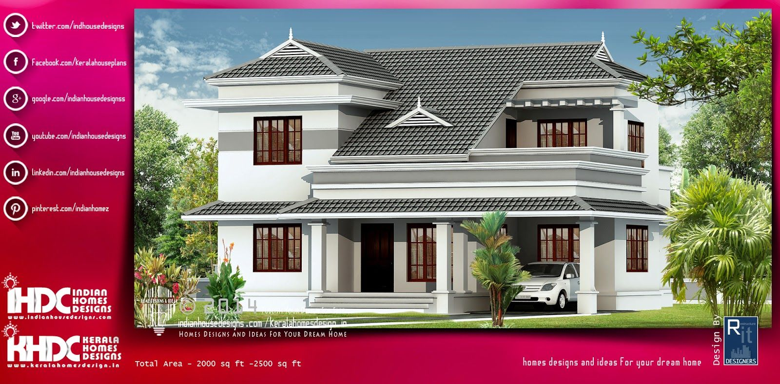 Modern And Best Contemporary Home Plans In India Designed
