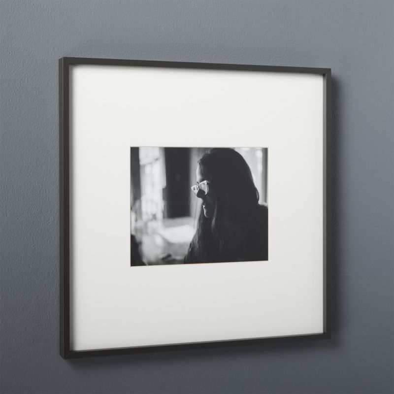 gallery black 8x10 picture frame | 8x10 picture frames, Matte black ...