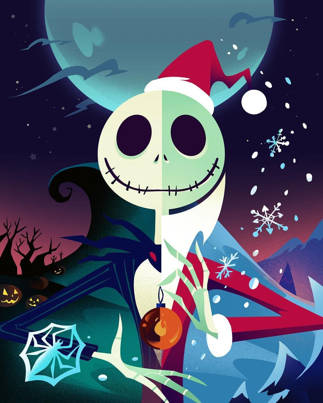 This is Halloween, Nightmare Before Christmas style. Now