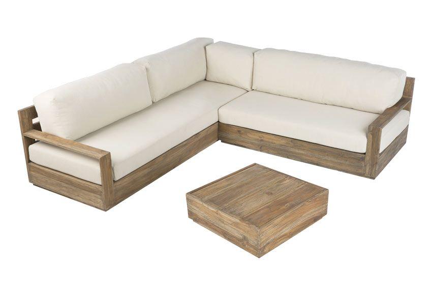 Resultado de imagen para sillones de madera sofa for Sofa terraza madera