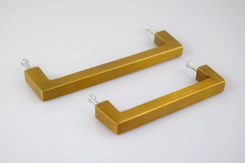 Cupboard Draw Handles. ,vintage Brass Pulls, Cabinet Handles .Kitchen  Handles, Pulls