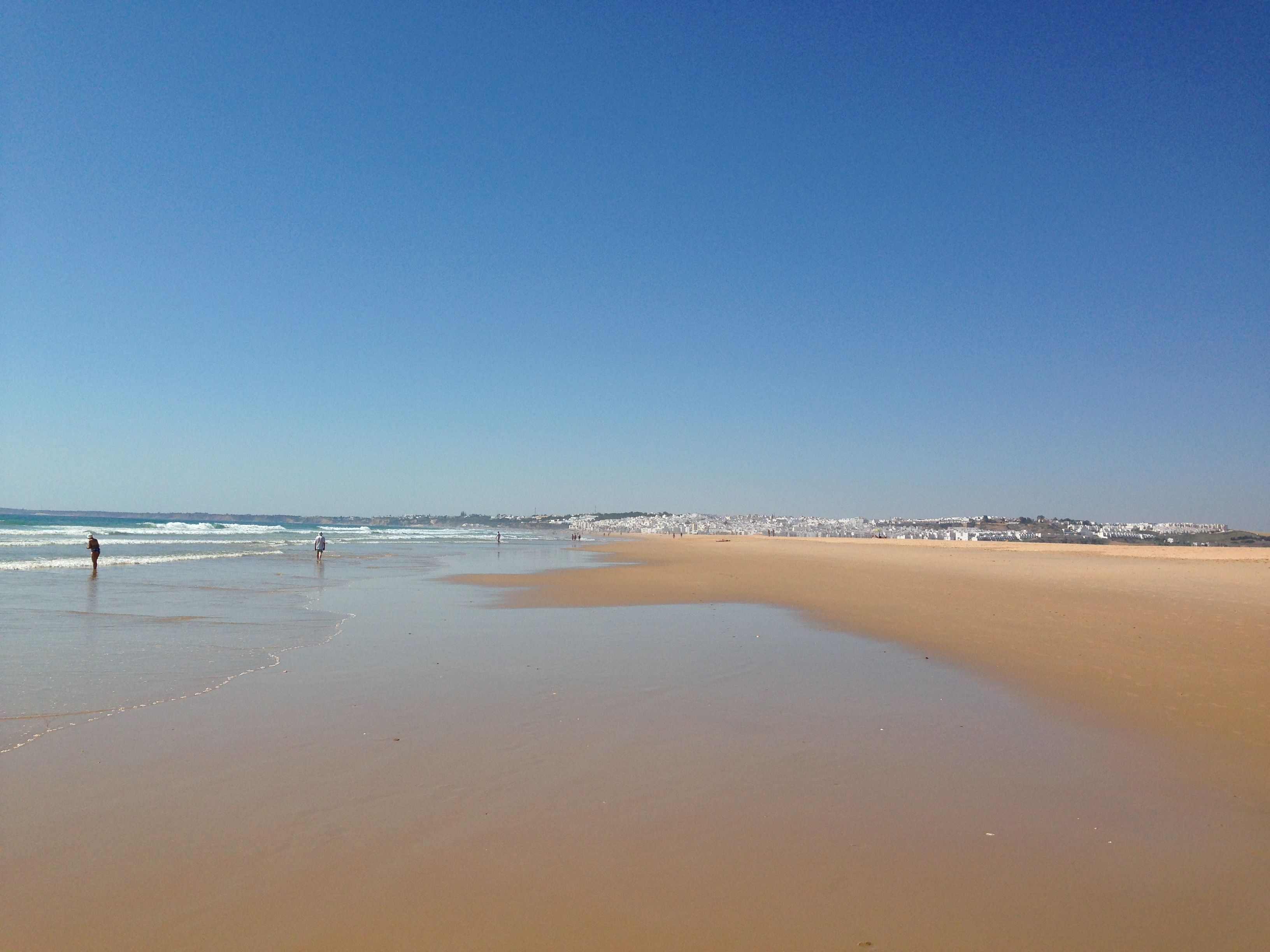 Playa de Conil in Conil de la Frontera Andaluca Playa Conil de