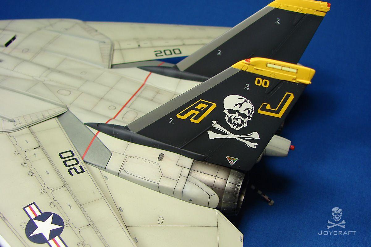 F14A Tomcat Jolly Rogers 1981 Joycraft Model