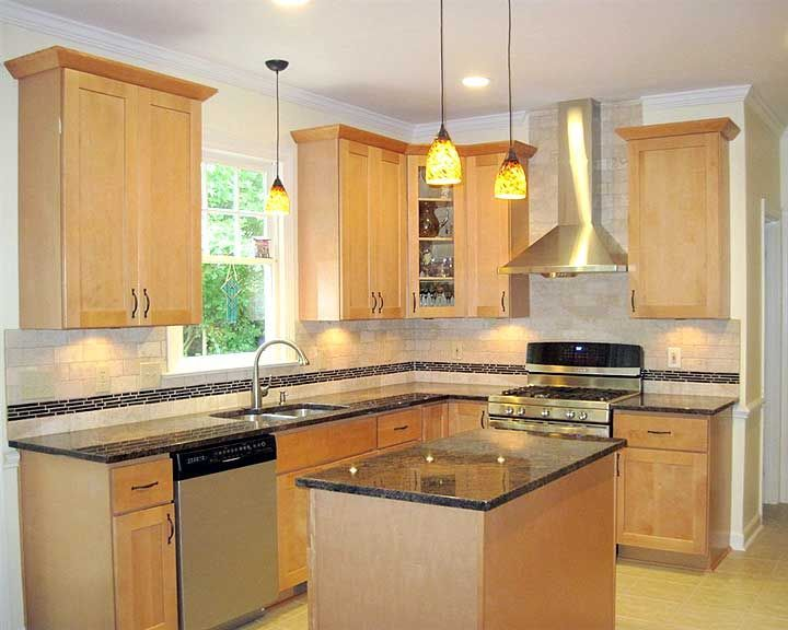 Photos types of kitchen cabinets cabinets dark granite for Types of kitchen appliances
