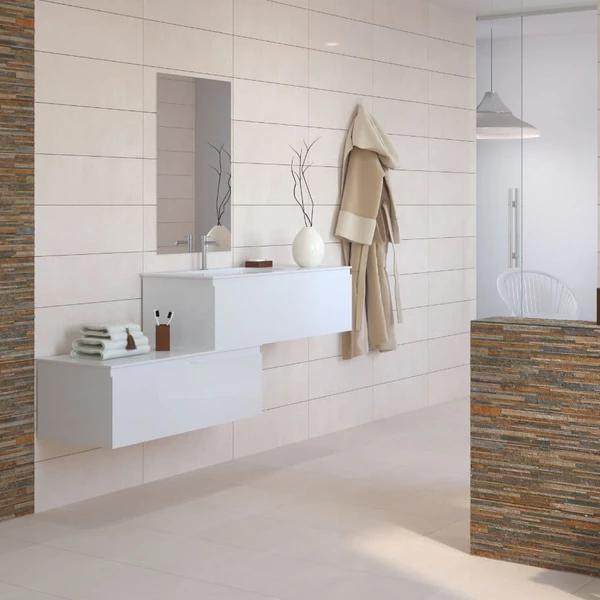 cream tile bathroom floor  google search  bathroom wall