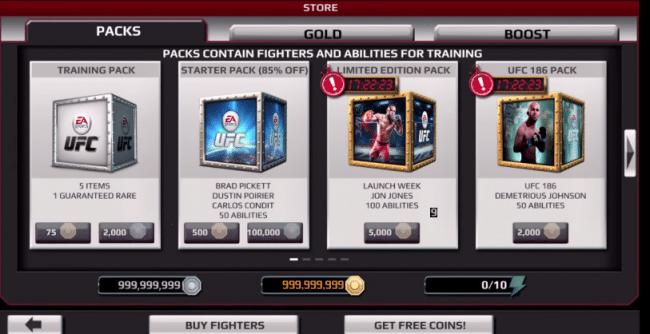 EA Sports UFC Hack (Android/iOS) | Монеты | Монеты