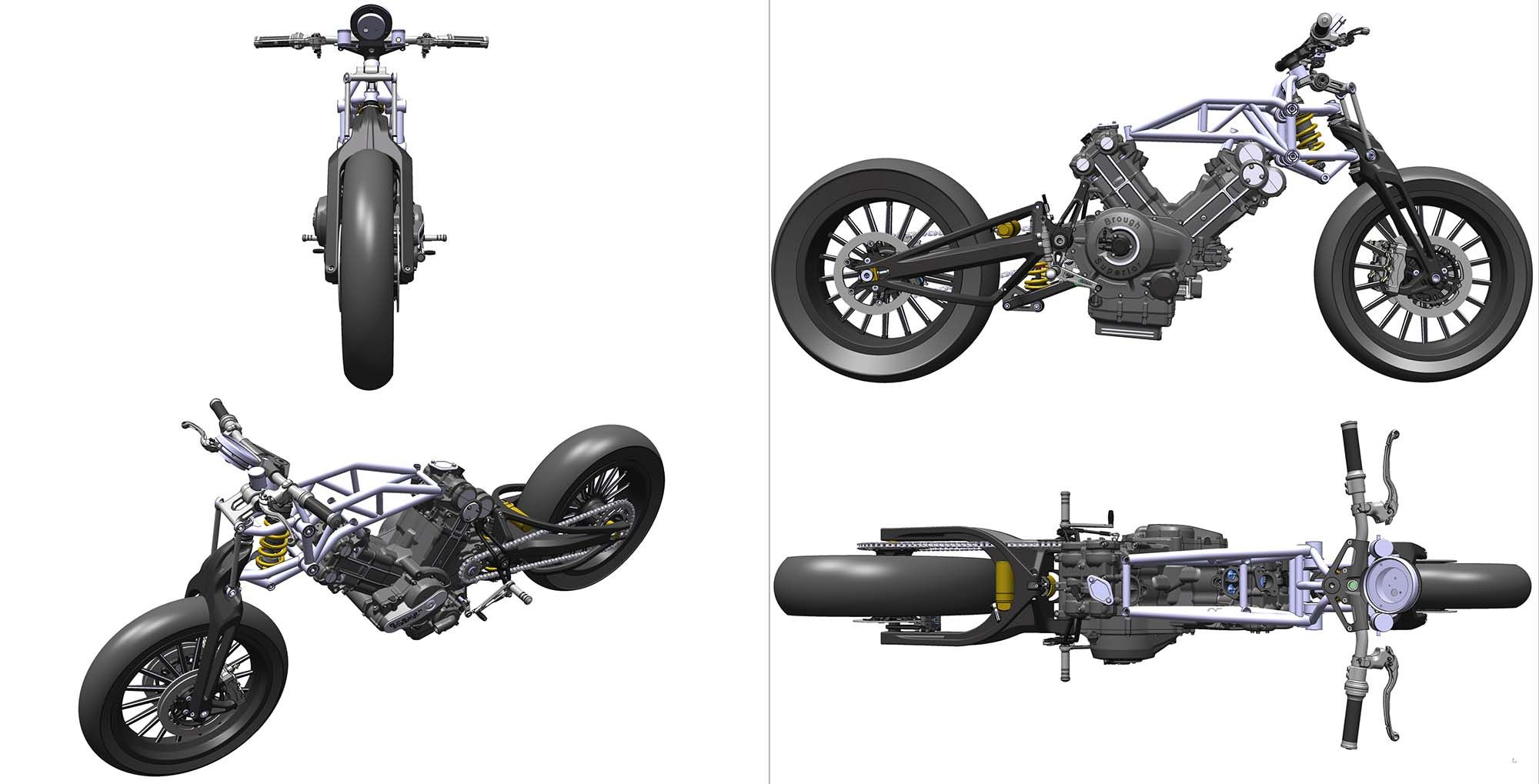 Brough Superior Ss100 Design 14